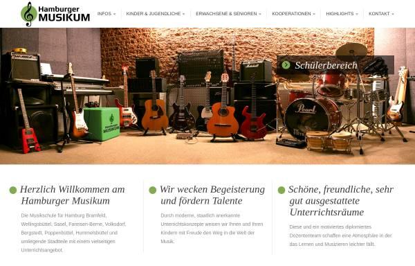 Vorschau von www.hamburger-musikum.de, Hamburger Musikum