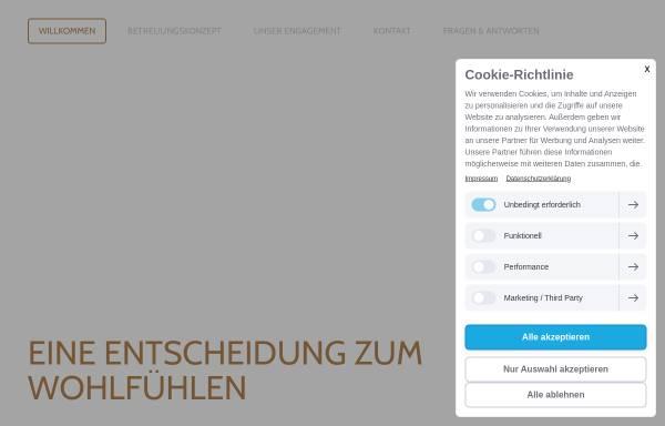 Vorschau von www.esde-betreuung.de, ESDE Seniorenbetreuung und Krankenbetreuung