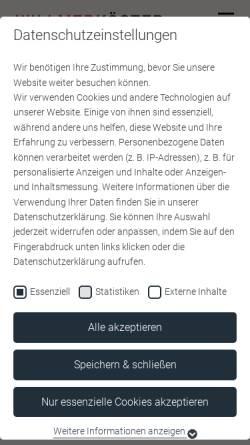 Vorschau der mobilen Webseite www.willmerkoester.de, Willmer & Partner