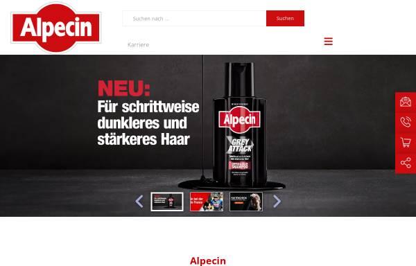 Vorschau von www.alpecin.de, Alpecin