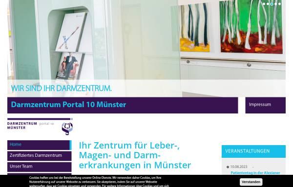 Vorschau von www.darmzentrum-muenster-muensterland.de, Darmzentrum Münster / Münsterland