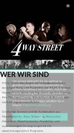 Vorschau der mobilen Webseite fourwaystreet.de, 4 Way Street