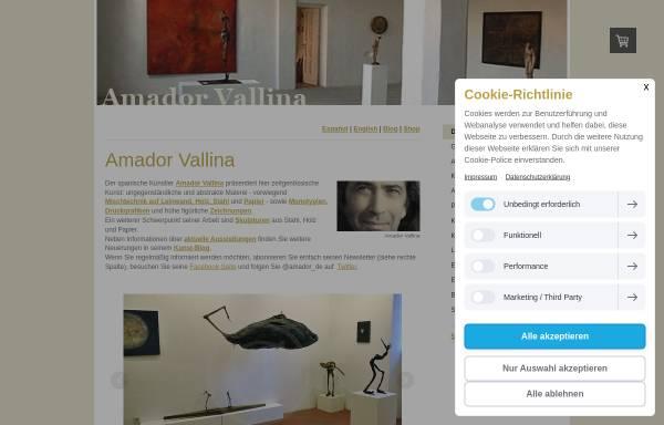 Vorschau von www.amador-vallina.com, Vallina, Amador