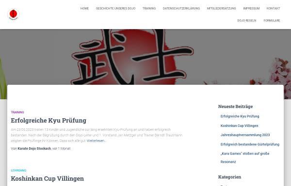 Vorschau von karate-dojo-stockach.de, Karate Dojo Stockach e.V.