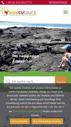 Vorschau der mobilen Webseite www.solecu.de, Solecu