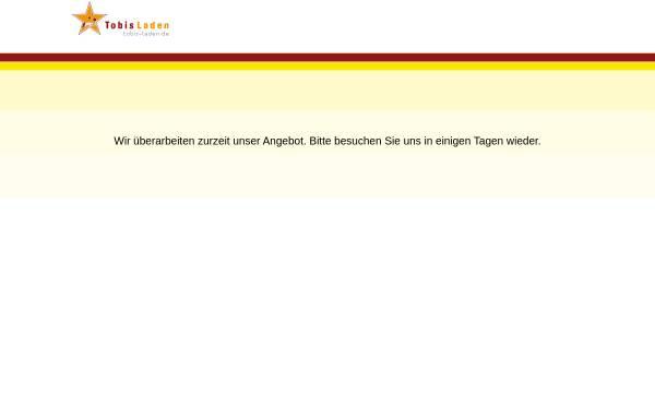 Vorschau von www.tobisladen.de, Tobis Laden,Tobias Flach