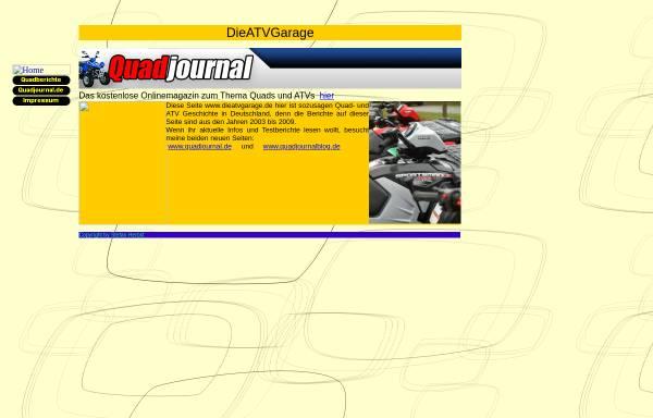 Vorschau von www.dieatvgarage.de, ATV-Garage