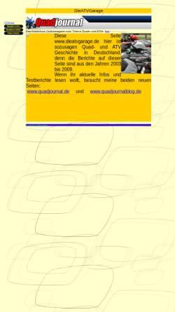 Vorschau der mobilen Webseite www.dieatvgarage.de, ATV-Garage
