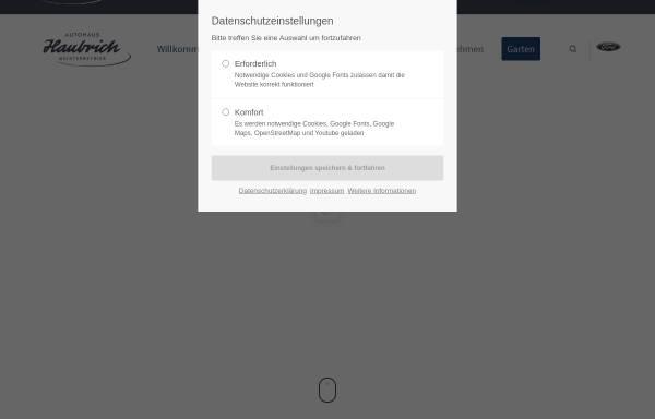 Vorschau von www.haubrich-waldrach.de, Autohaus Haubrich