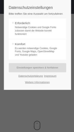 Vorschau der mobilen Webseite www.haubrich-waldrach.de, Autohaus Haubrich