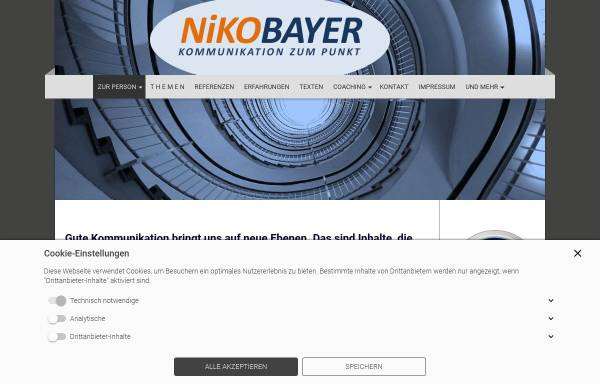Vorschau von www.nikobayer.de, Bayer, Niko
