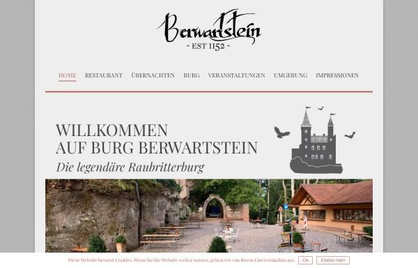 Vorschau von burgberwartstein.de, Burg Berwartstein - Wikipedia