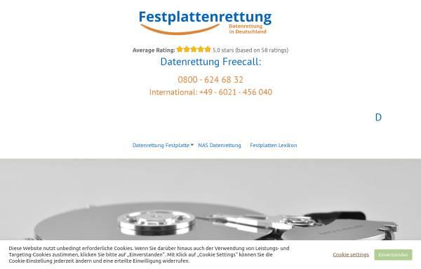 Vorschau von festplattenrettung.de, Maintec Datenrettung und Forensik Thomas Knecht