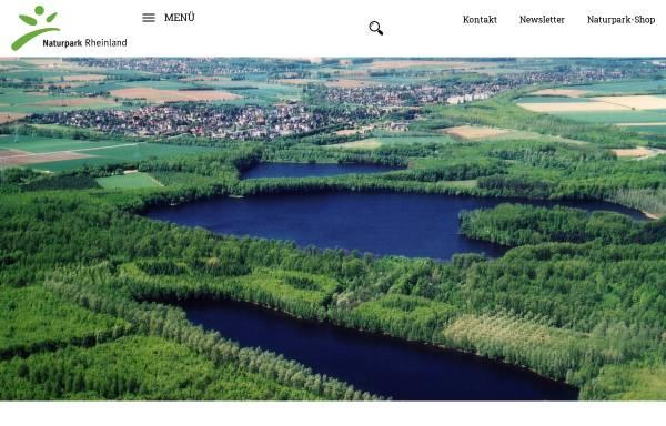 Vorschau von www.naturpark-rheinland.de, Naturpark Rheinland