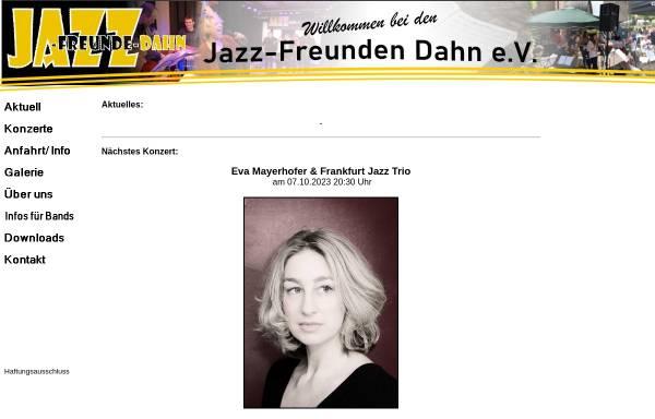 Vorschau von www.jazz-freunde-dahn.de, Jazz-Freunde Dahn e.V.