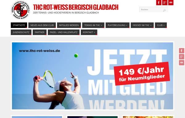 Vorschau von www.thc-rot-weiss.de, Tennis- und Hockey-Club Rot-Weiß Bergisch Gladbach