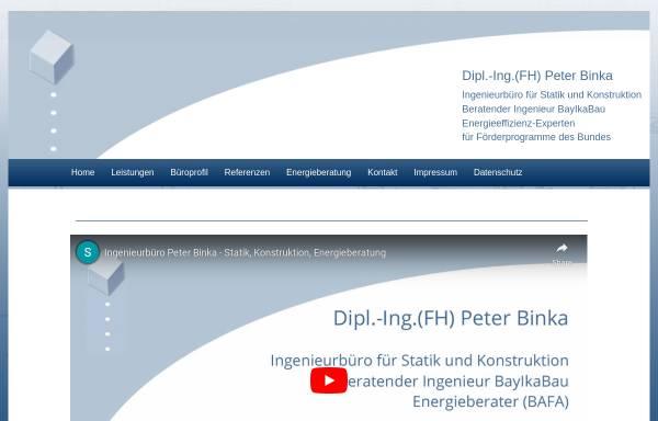 Vorschau von www.binka.de, Binka, Peter