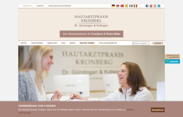 Vorschau von www.hautarztpraxis-kronberg.de, Gündogan, Dr. med. Cüneyt