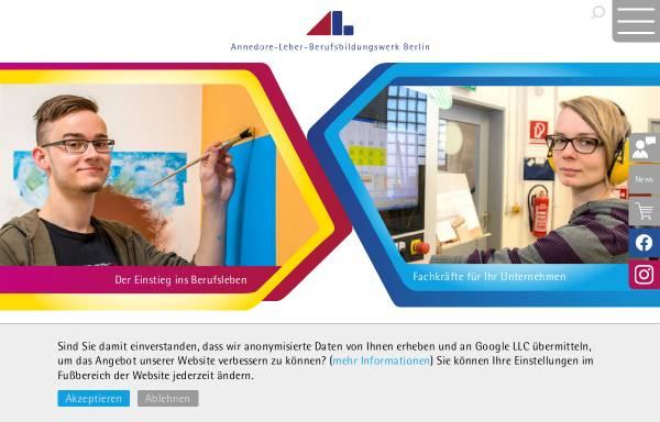 Vorschau von www.albbw.de, Annedore-Leber-Berufsbildungswerk Berlin