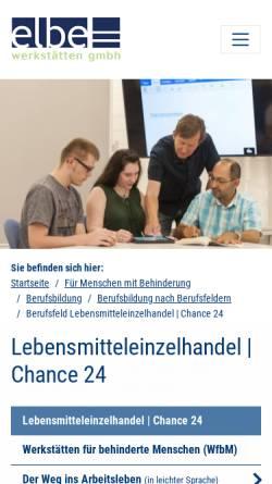 Vorschau der mobilen Webseite www.chance-24.de, Chance-24