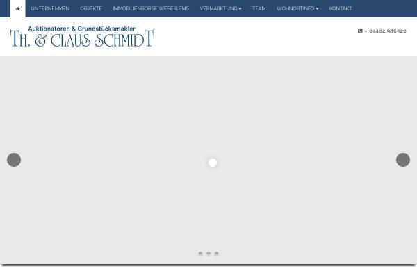 Vorschau von www.immobilien-rastede.de, Thorsten & Claus Schmidt Immobilien