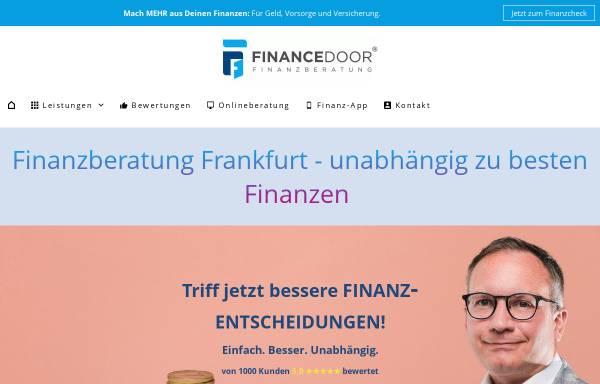Vorschau von www.financedoor.de, Financedoor GmbH