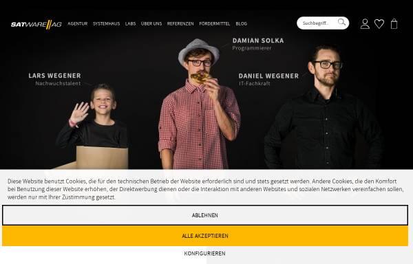 Vorschau von satware.com, satware AG
