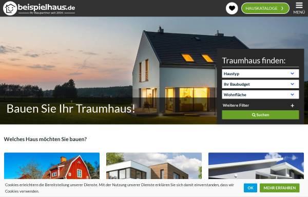 Vorschau von beispielhaus.de, Beispielhaus, Jürgen Lammers