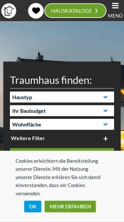 Vorschau der mobilen Webseite beispielhaus.de, Beispielhaus, Jürgen Lammers