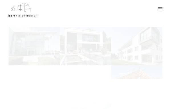 Vorschau von www.barth-architekten.de, Barth Architekten Gauting