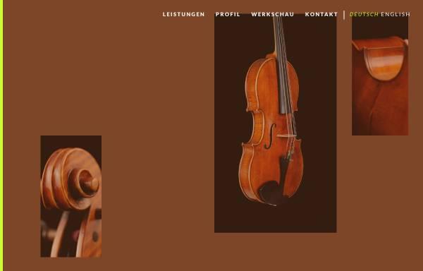 Vorschau von www.geigenbau-gerstner.de, Gerstner, Bernhard