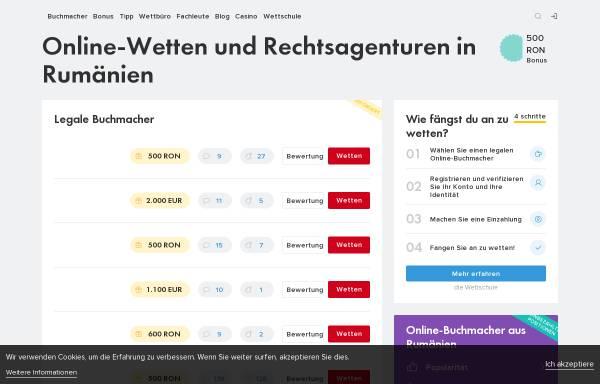 Vorschau von www.santa-marta.de, Winkel Servicios Turisticos