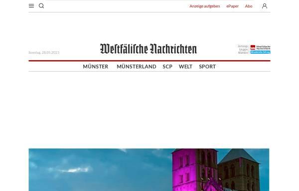 Vorschau von www.wn.de, Westfälische Nachrichten
