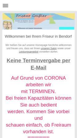 Friseur Geißler Inh Brigitte Schmidt Wirtschaft Bendorf Friseur