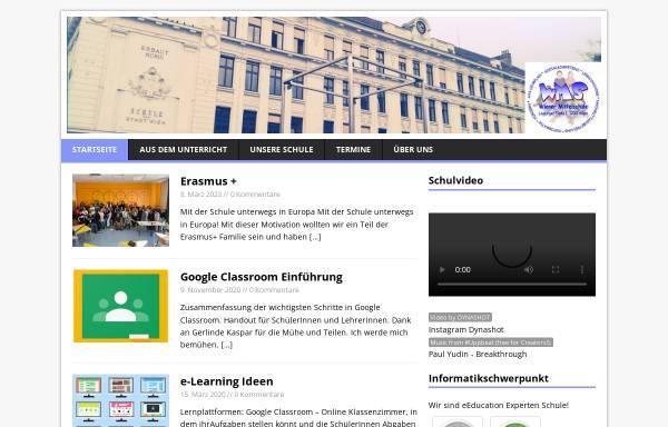 Vorschau von www.wms-lp.at, Mittelschule Leipziger Platz