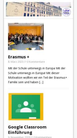 Vorschau der mobilen Webseite www.wms-lp.at, Mittelschule Leipziger Platz