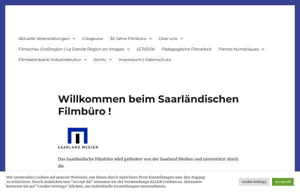 Vorschau von www.filmbuero-saar.de, Filmbüro Saar e.V.