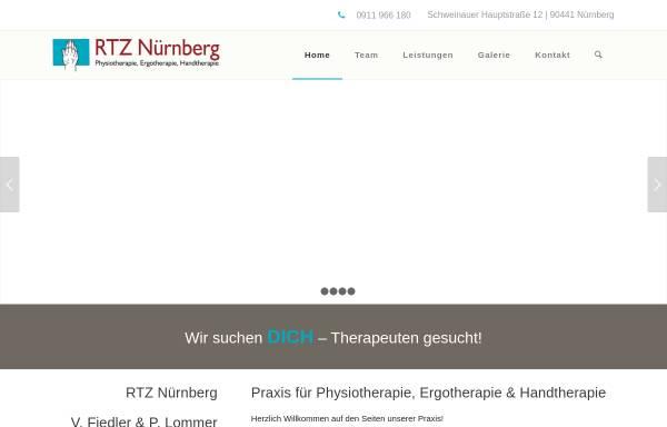 Vorschau von www.rtz-nuernberg.de, Rheuma Therapie Zentrum