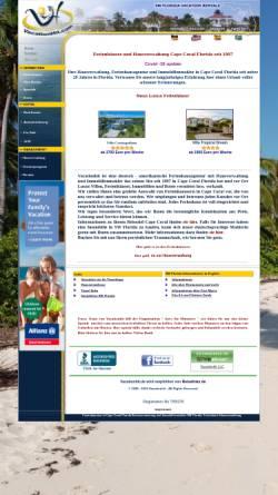Vorschau der mobilen Webseite www.vacationhit.de, Vacationhit