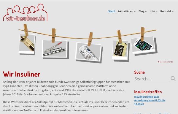 Vorschau von www.insuliner.de, Insuliner