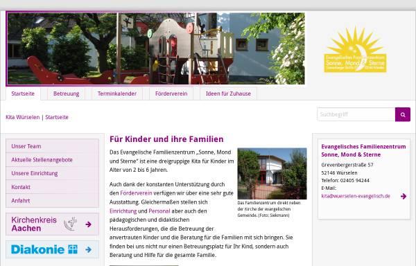 Vorschau von www.kita-wuerselen.de, Kindertagesstätte Sonne, Mond & Sterne