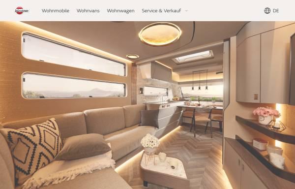 Vorschau von www.buerstner.com, Bürstner GmbH