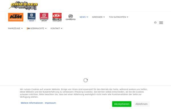 Vorschau von www.griessermotosport.de, Griesser Moto-Sport
