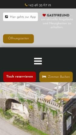 Vorschau der mobilen Webseite www.schweizerhaus.co.at, Schweizerhaus