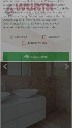 Vorschau der mobilen Webseite wurth-shk.de, Meisterbetrieb Wolfgang Wurth