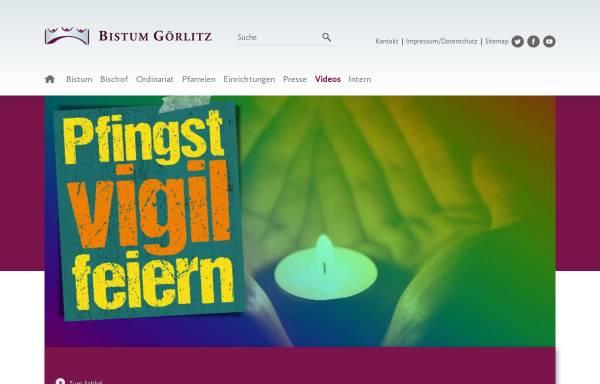Vorschau von bistum-goerlitz.de, Görlitz - Bistum