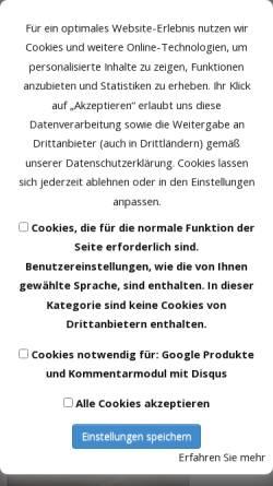 Vorschau der mobilen Webseite schrankhochdrei.de, haeger schrank³