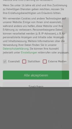 Vorschau der mobilen Webseite www.oberboersch.de, Oberbörsch Design