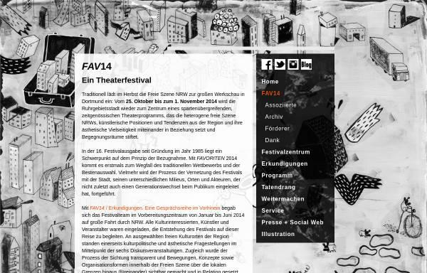 Vorschau von www.freie-daku-nrw.de, Verband Freie Darstellende Künste NRW e.V.