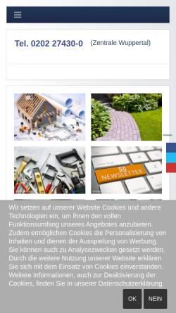 Vorschau der mobilen Webseite www.schadeundsohn.de, Schade + Sohn GmbH